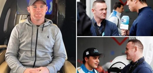 Wayne Rooney jets into Saudi Arabia for Formula E season opener