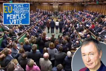 Parliament told the 17.4 million their Brexit vote is worthless — a so-called 'People's Vote' would end our democracy