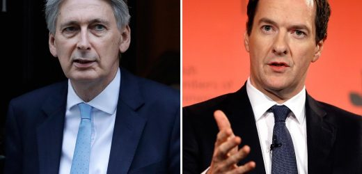 Philip Hammond & George Osborne branded Brexit wreckers over their battle to keep Britain in the EU