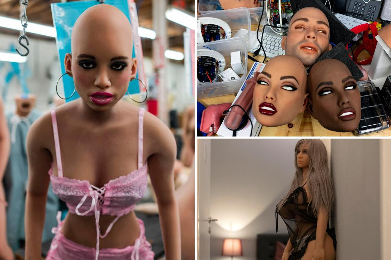 Inside the sex robot factory that's shipping £6,000 'Harmony' dolls to randy punters just in time for Christmas