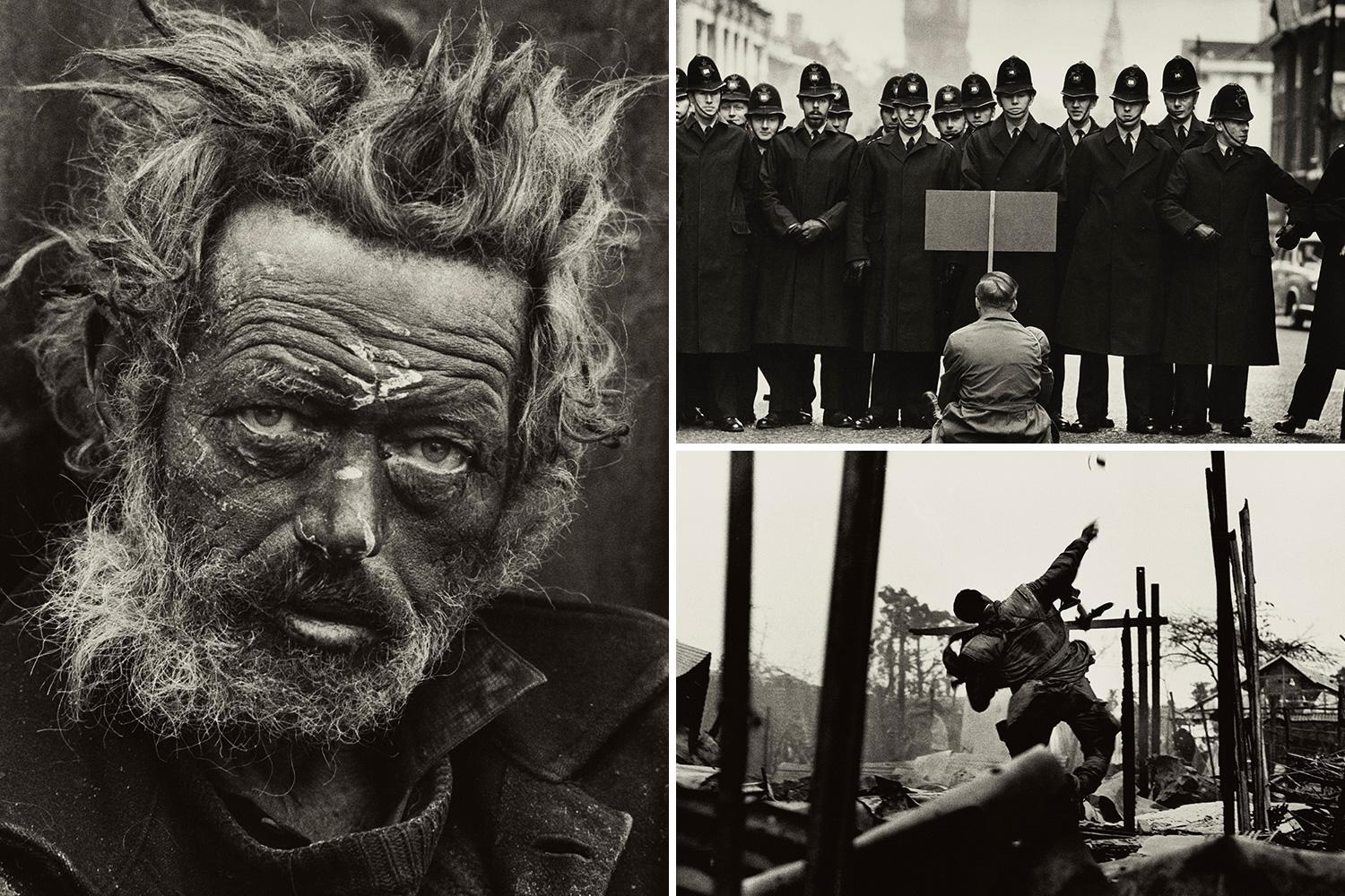 New exhibition from legendary British photographer Don McCullin captures war zones from Vietnam to Belfast