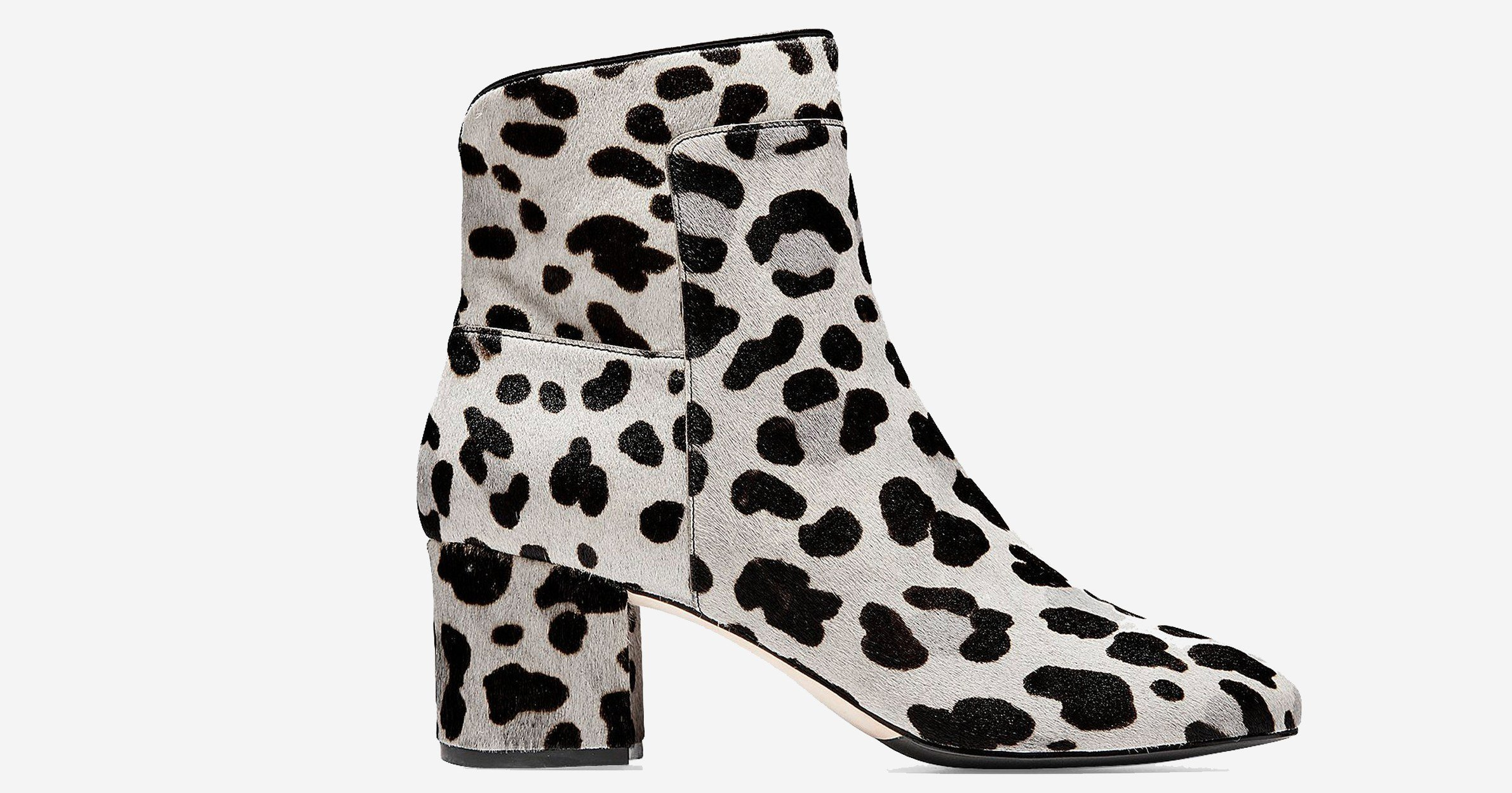 These Wildly Chic Cole Haan Leopard Print Booties Are 50 Percent Off