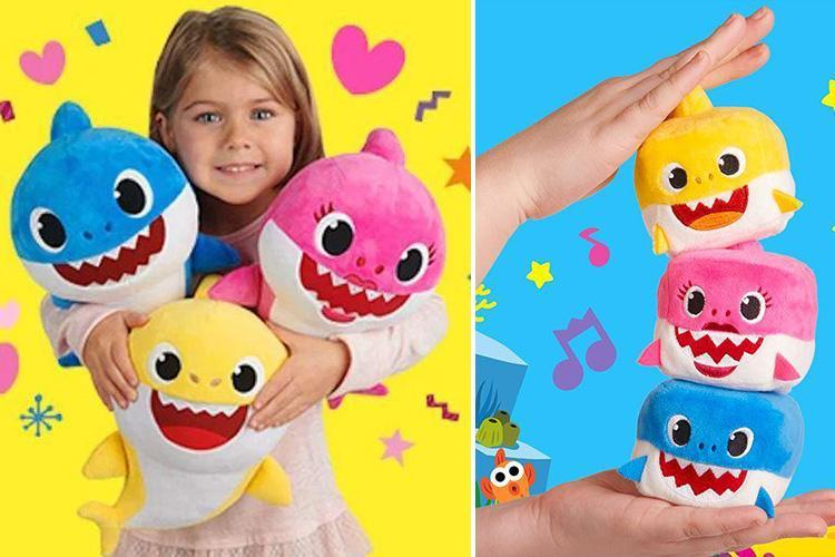 You can buy singing Baby Shark cuddly toys for your kids this Christmas – if you're brave enough
