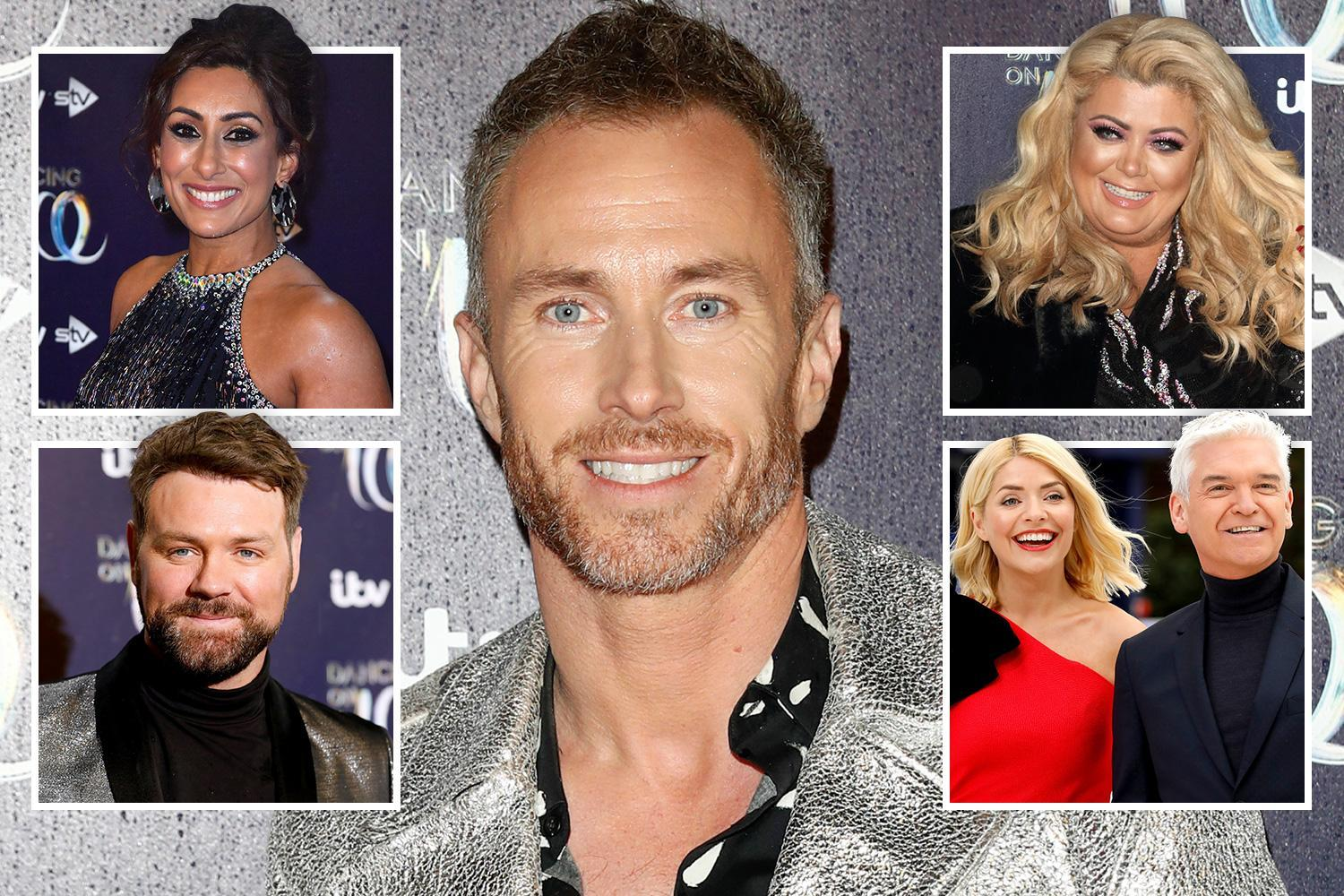 Dancing On Ice's James Jordan launched savage attack on FOUR stars of the show branding them 'bullies' and threatened to 'smash their faces in'