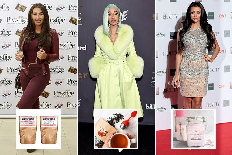 Detox teas and diet shakes loved by Lauren Goodger, Cardi B and Kady McDermott WON'T help you lose weight – our experts explain why