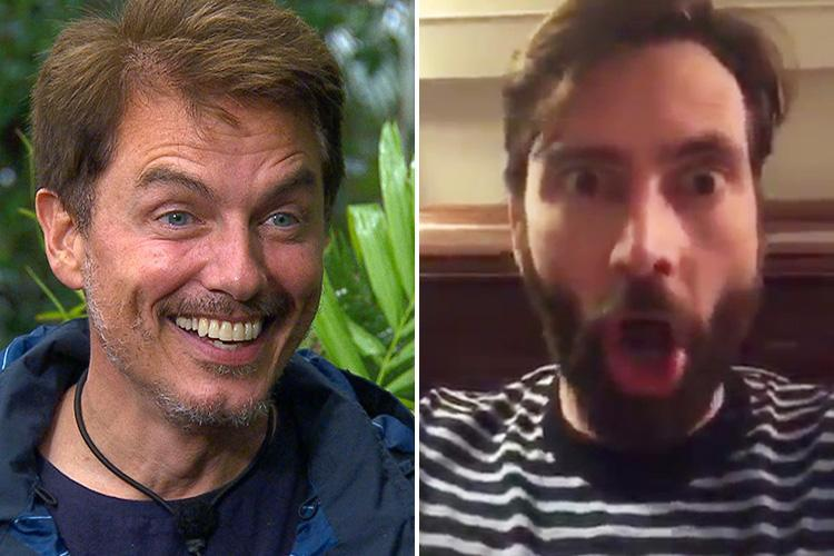 Doctor Who star David Tennant begs fans to vote for co-star John Barrowman to win I'm A Celebrity