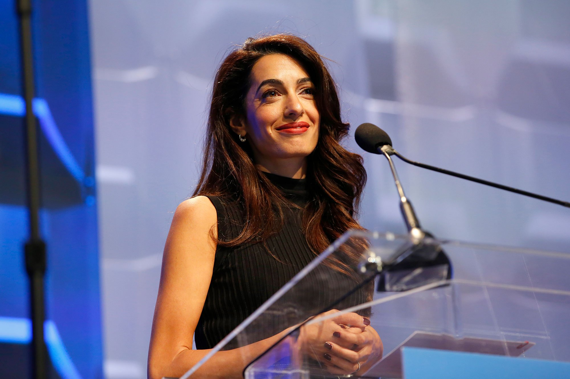 Amal Clooney Opens Up About 'Unwanted Advances' in the Workplace to Father-in-Law Nick Clooney