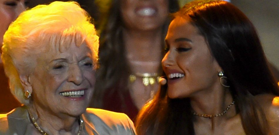 Ariana Grande Takes Her Grandmother To Get Tattooed At Age 93