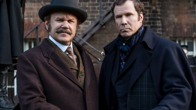 Will Ferrell and John C. Reilly's bromance goes back in time for Holmes and Watson
