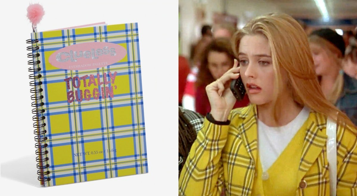 This 'Clueless' Eyeshadow Palette At Hot Topic Will Have You Totally Buggin'