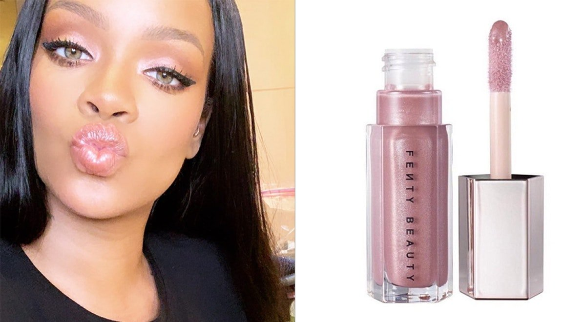 A New Fenty Gloss Bomb Shade Is Dropping Soon & It's Pure Pink Perfection