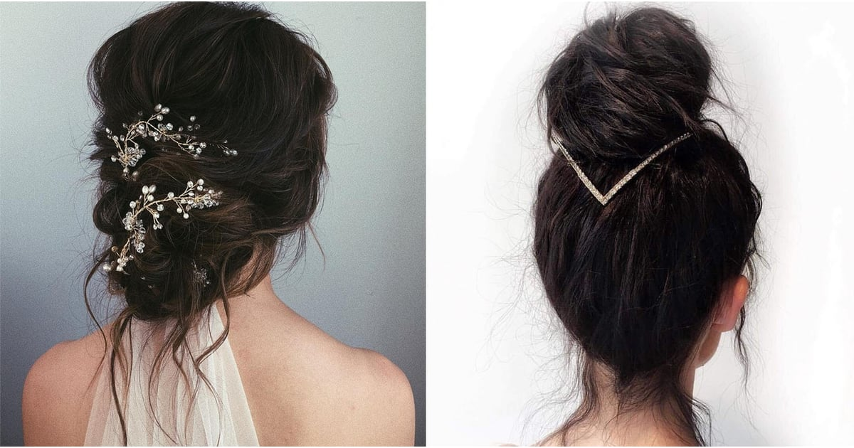35+ Messy Buns That Are Glamorous Enough to Wear on Your Wedding Day