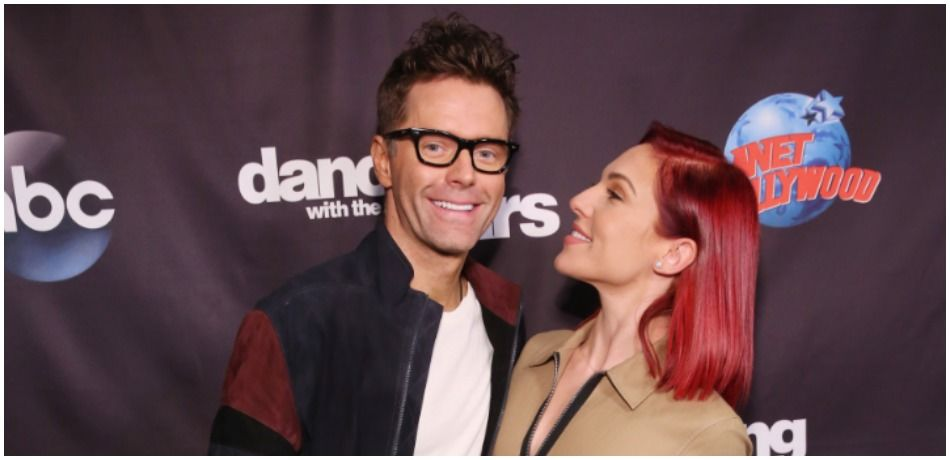 'DWTS' Sharna Burgess Cuddles With Bobby Bones, Who Confirms This About Their Relationship