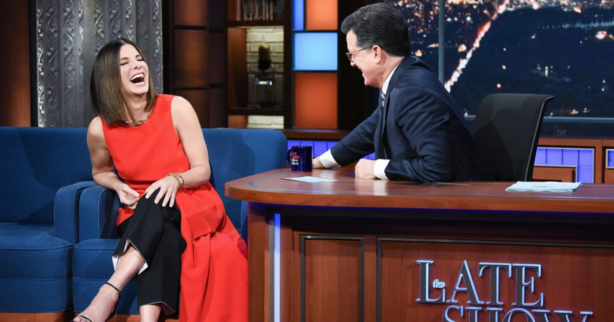 Sandra Bullock Gets Fact Checked on 'The Late Show' — Here's Everything We Learned About Her!
