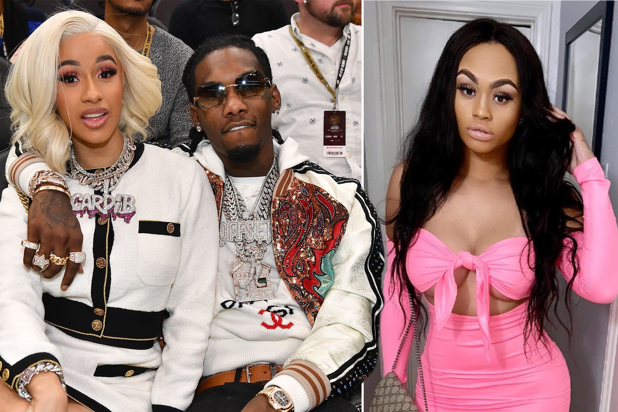 Offset's alleged mistress releases emotional song about him
