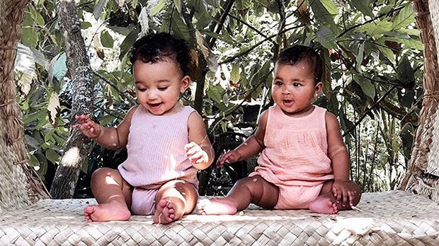Chicago West & True Thompson Are Sleepy Twins On Adorable Cousin Playdate — Pics