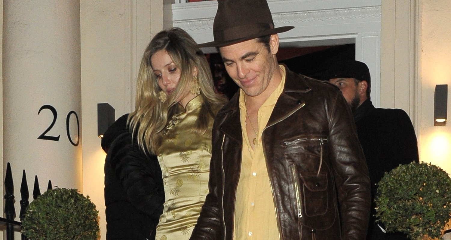 Chris Pine & Annabelle Wallis Couple Up For Late Night London Party!