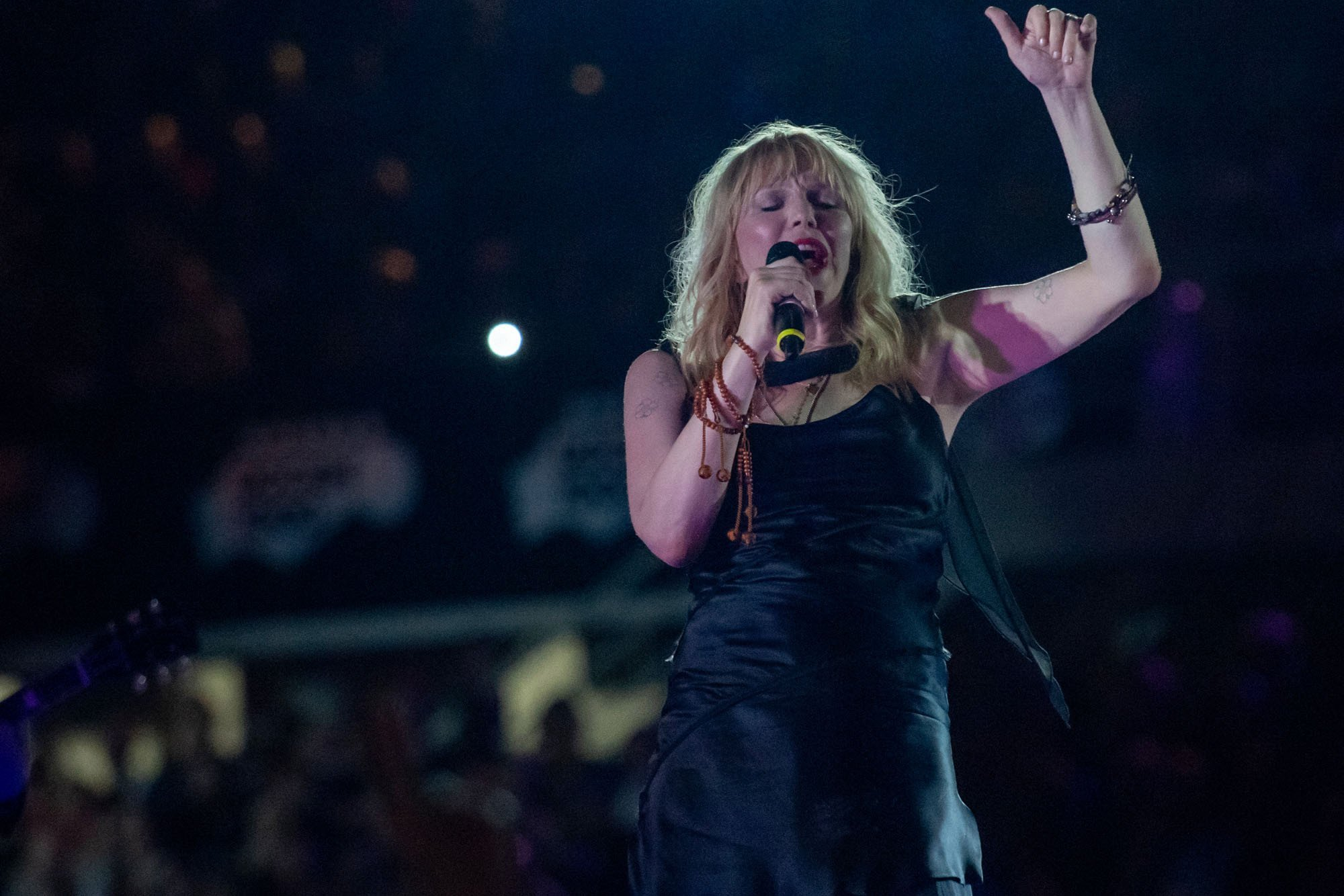 Why Courtney Love's selling her wardobe