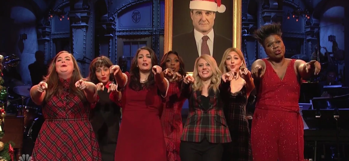 """'SNL's '""""All I Want For Christmas"""" Parody Nails How Exhausting 2018 Has Been For Politics"""