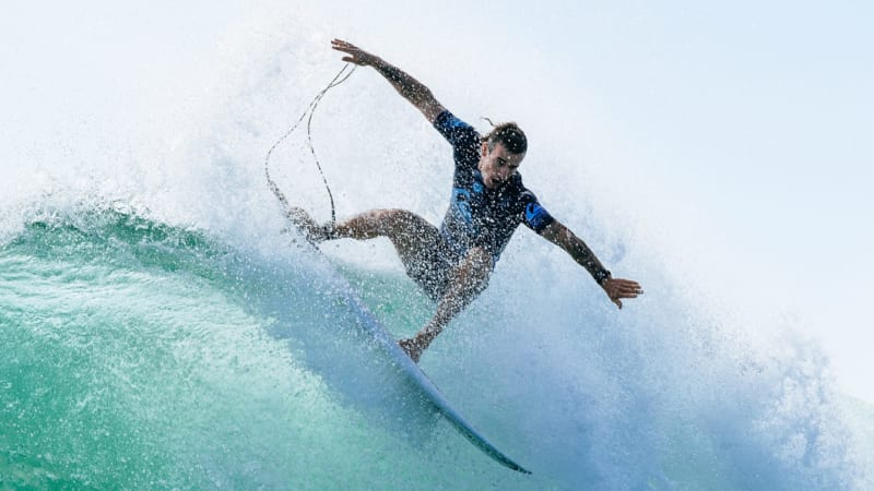 Aussie surfing star has Wright stuff despite missing Hawaii