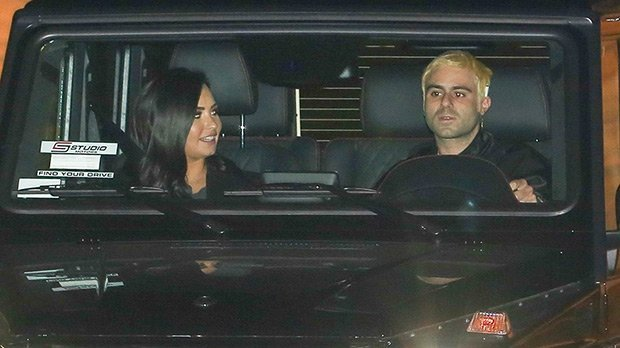 Demi Lovato All Smiles While Out With Close Friend Henri Levy 4 Weeks After Leaving Rehab