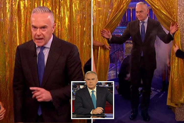 Strictly viewers swoon as Huw Edwards shows off sexy new look