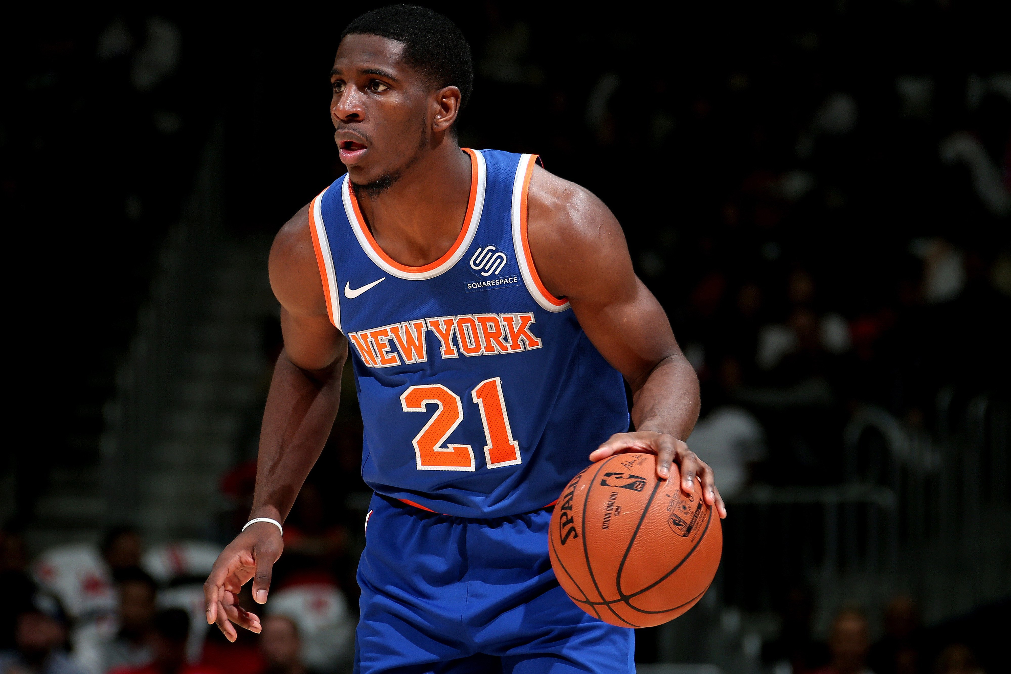 The 2 teams chasing Damyean Dotson, who's making Knicks decision harder
