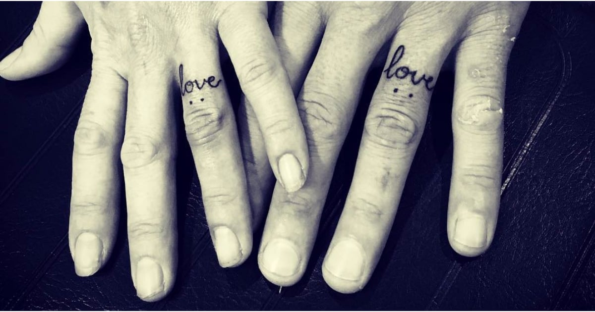 32 Couples Who Gave Up Their Engagement Rings For Tattoos