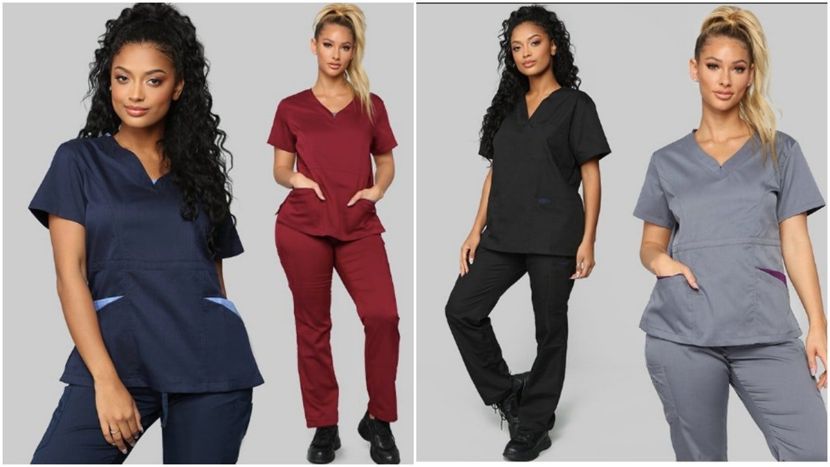 Fashion Nova Sells Scrubs For Women With Curves & They Are Actually Super Affordable