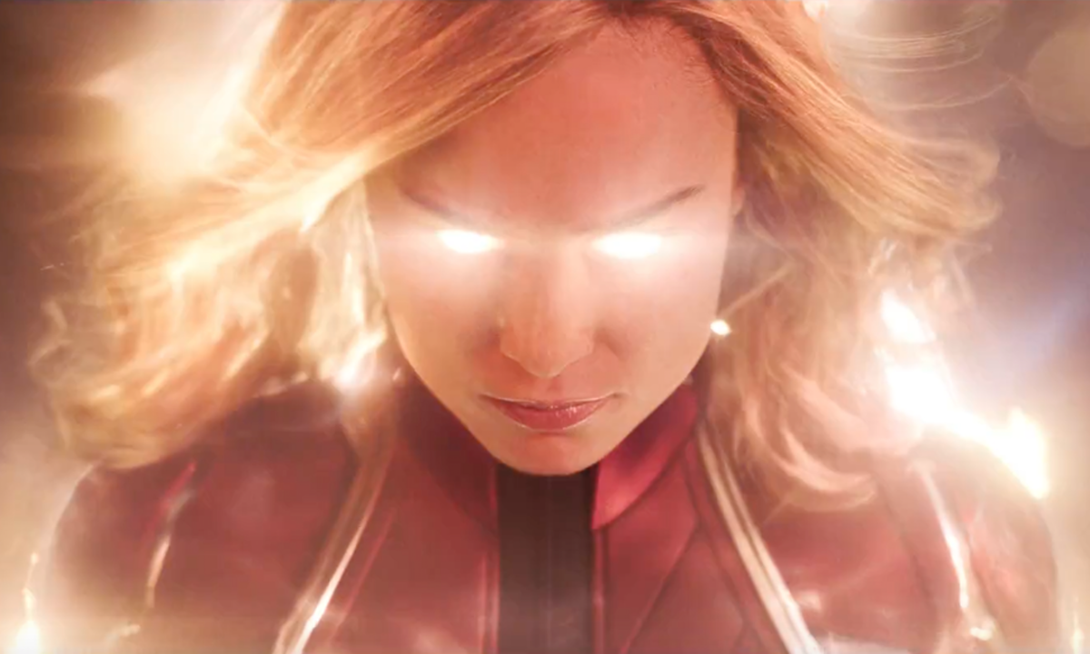 The New 'Captain Marvel' Trailer Is A Jaw-Dropping Trip To The '90s (And Outer Space)