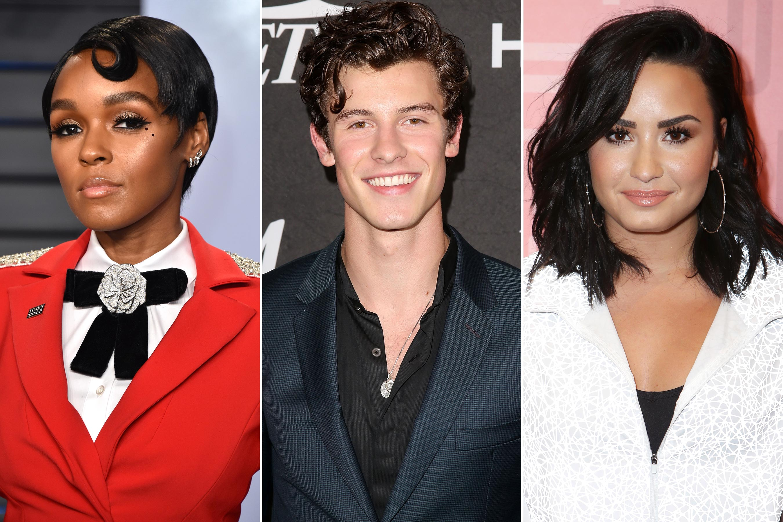 Demi Lovato, Janelle Monáe, Shawn Mendes react to Grammy nominations