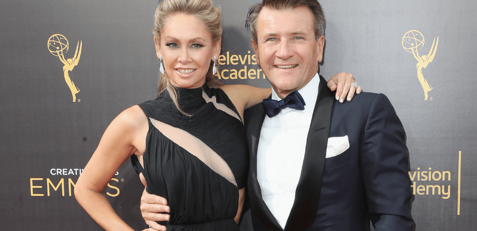 Kym Herjavec Shares Adorable Family Holiday Photo As Robert & Twins All Wear Matching Onesies