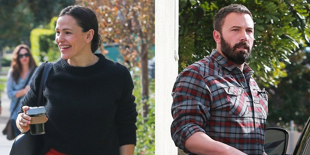 Jennifer Garner & Ben Affleck Arrive Separately for Church With the Kids!