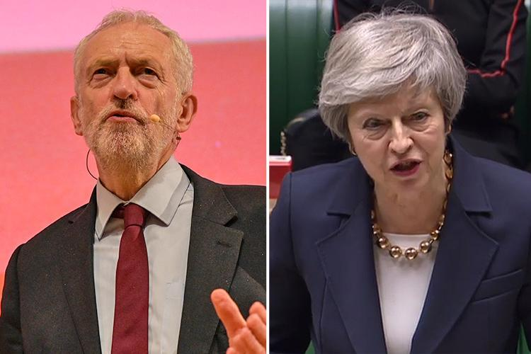 Britain could face Labour Government from WEDNESDAY as Jeremy Corbyn boasts he's ready to take over if Theresa May's Brexit plan voted down