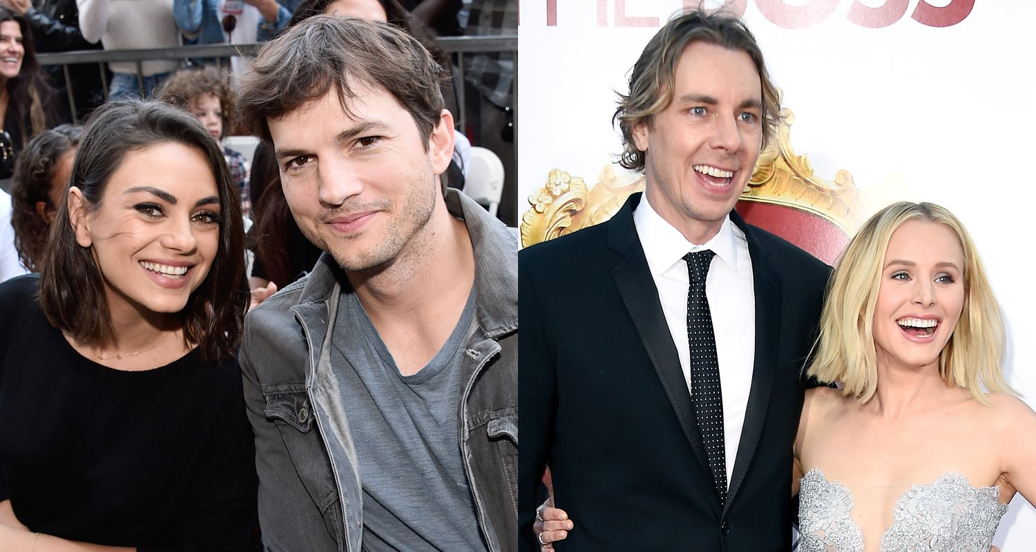 Ashton Kutcher & Mila Kunis Gave Dax Shepard & Kristen Bell the Best Christmas Gift!