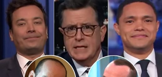 Late-Night Hosts Can't Hear Stephen Miller's Border Wall Defense Over His 'Sprayed-On Hair'