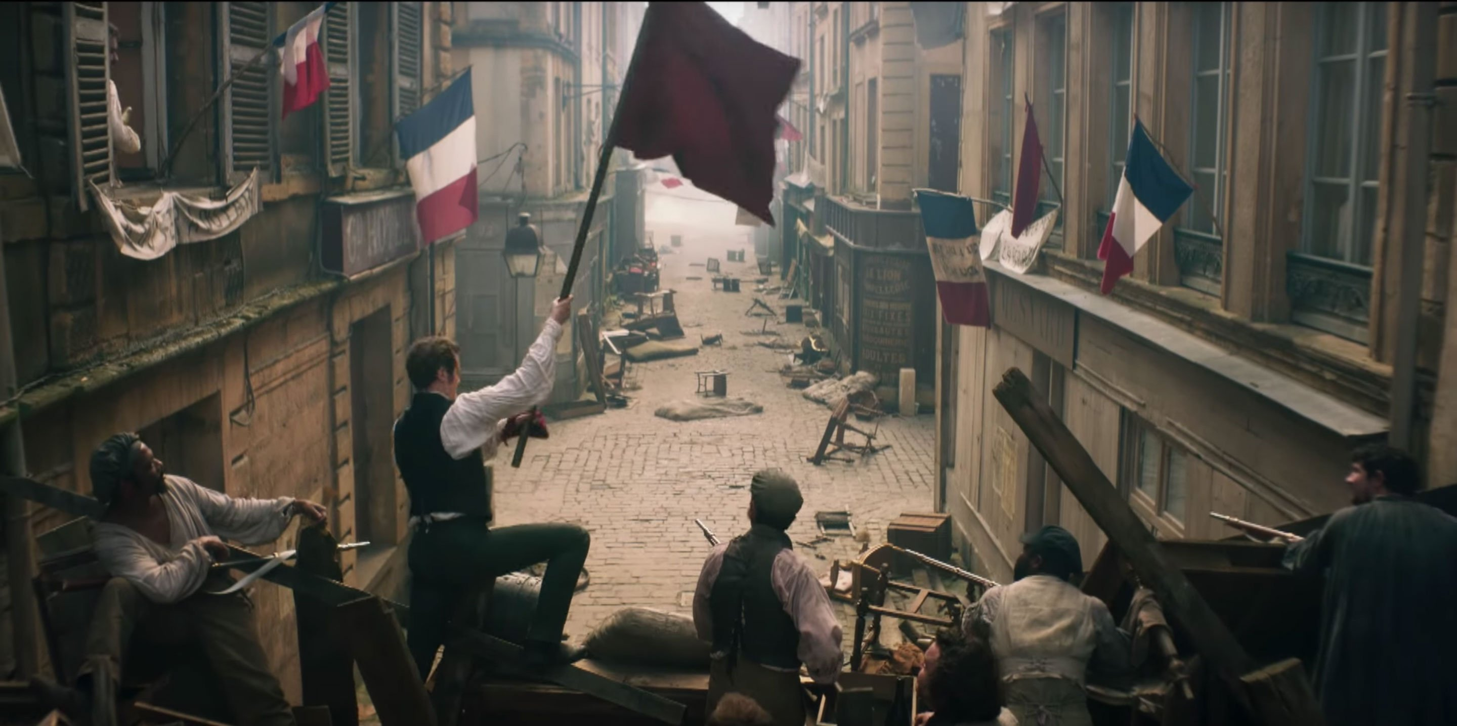 Watch Olivia Colman, Dominic West, and more in 'Les Miserables' trailer