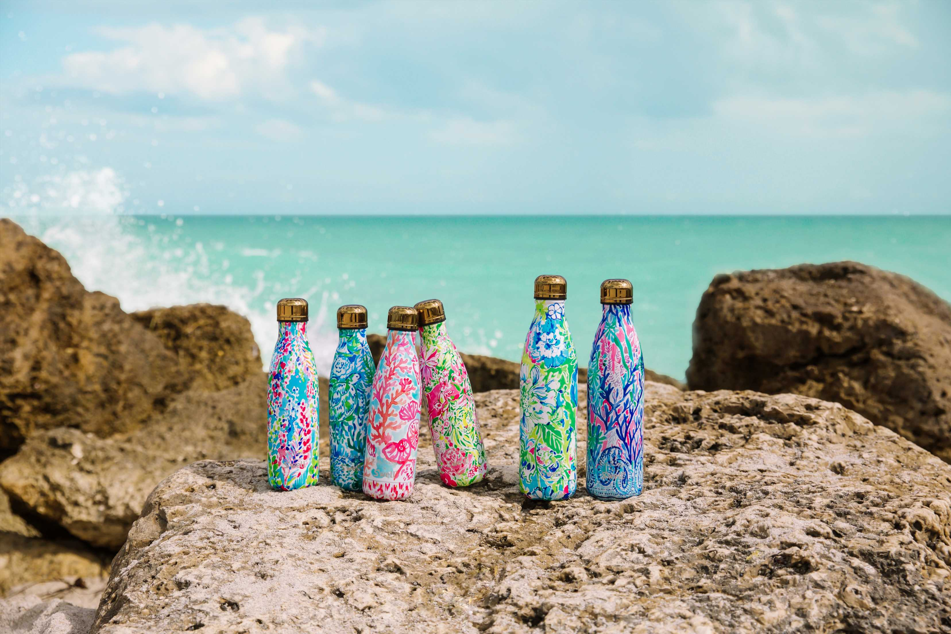 Those Fan-Favorite Lilly Pulitzer x S'Well Bottles Will Be On Sale, Tomorrow Only