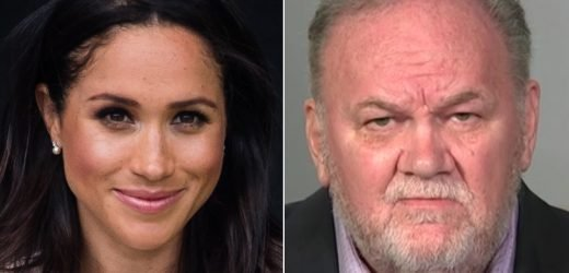 Meghan Markle's Dad Hasn't Received Christmas Card from Daughter, Calls on the Queen to Heal Rift