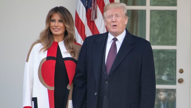 Why Melania Trump's Showing PDA & Holding Hands Again W/ Donald After Often Brushing Him Off