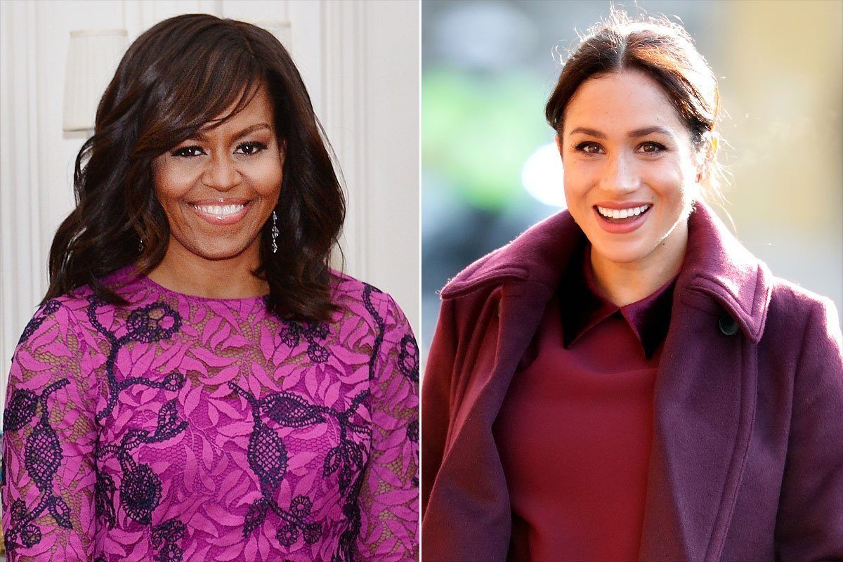 Michelle Obama Shares Her Biggest Piece of Advice for Meghan Markle as She Faces 'Pressure'