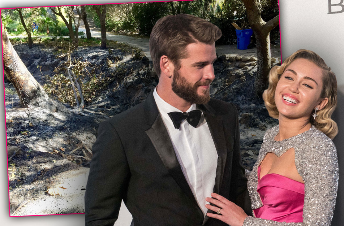 Miley Admits She Gave Liam Hemsworth 'Lots Of Action' After He Saved Pets From Fire