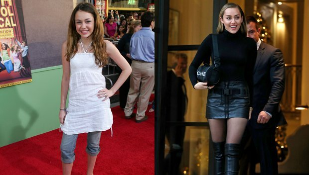 Miley Cyrus' Style Evolution: From 'Hannah Montana' To Sophisticated Beauty — See Pics