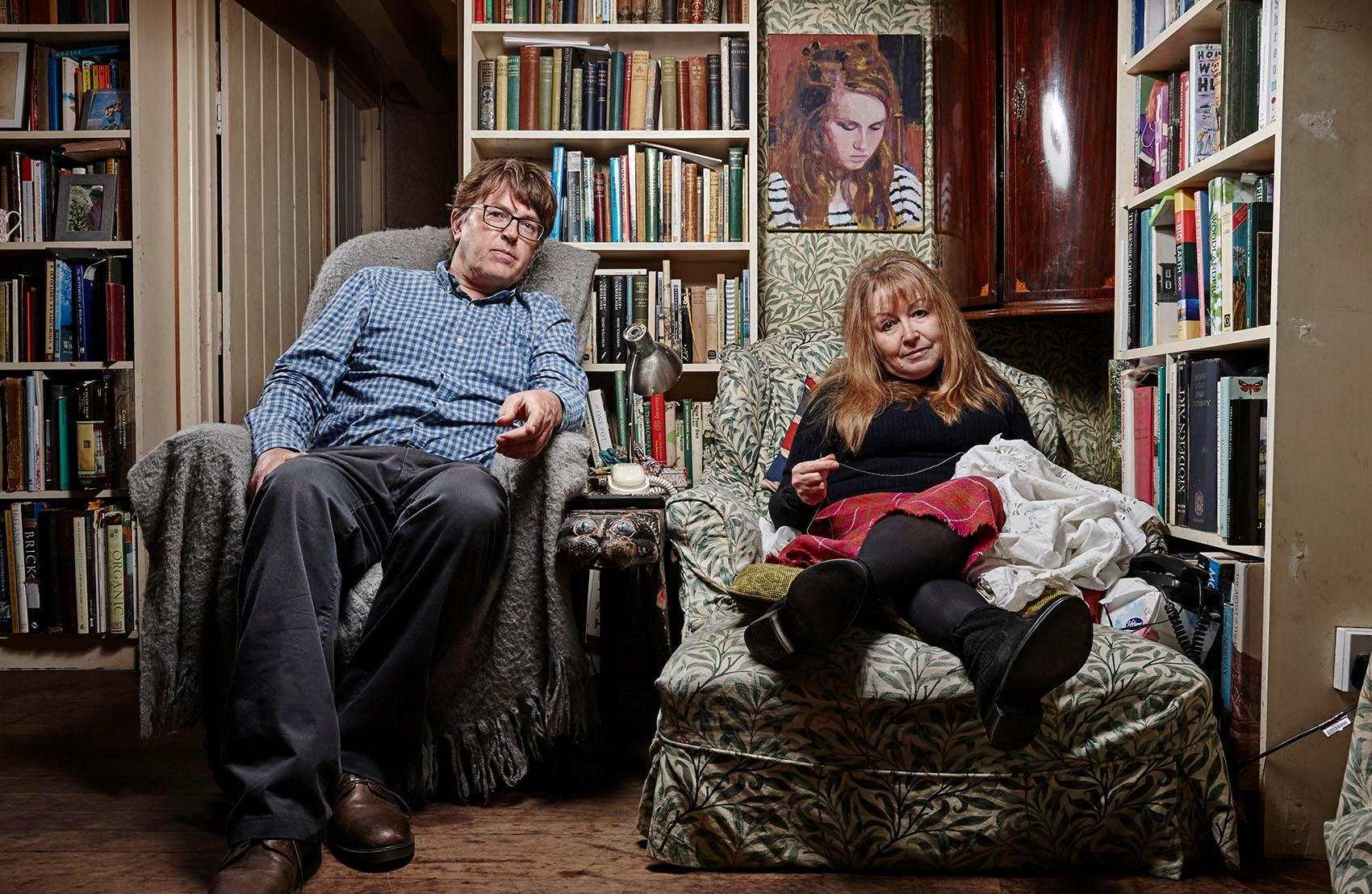 Who are Mary Killen and Giles Wood on Gogglebox? Meet the 'nutty' couple from Wiltshire who star in the Channel 4 show