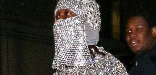 Offset parties in $11K crystal ski mask amid Cardi B breakup