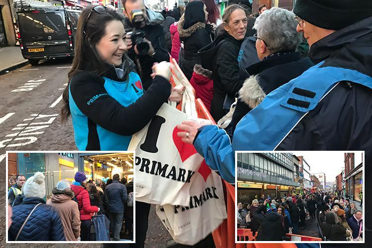 Belfast Primark – More than 1,000 shoppers queue from early hours as new Primark store opens in Ulster