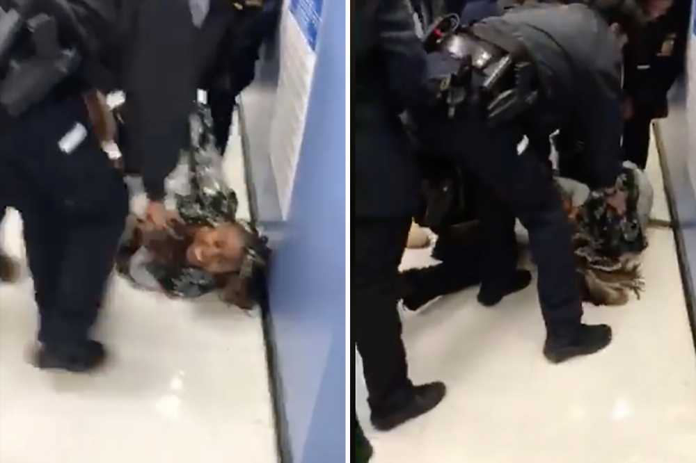 NYPD boss: Video of cops snatching baby from mom is 'very disturbing'