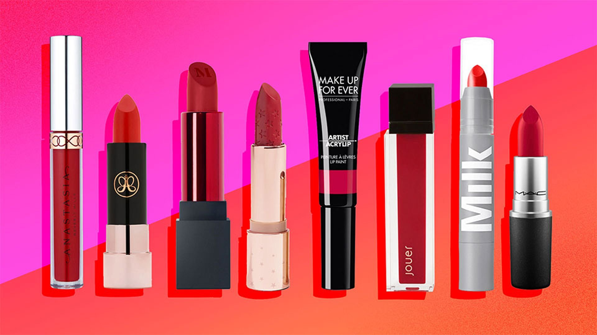 The Best Under-$20 Red Lipsticks for Holiday Party Season