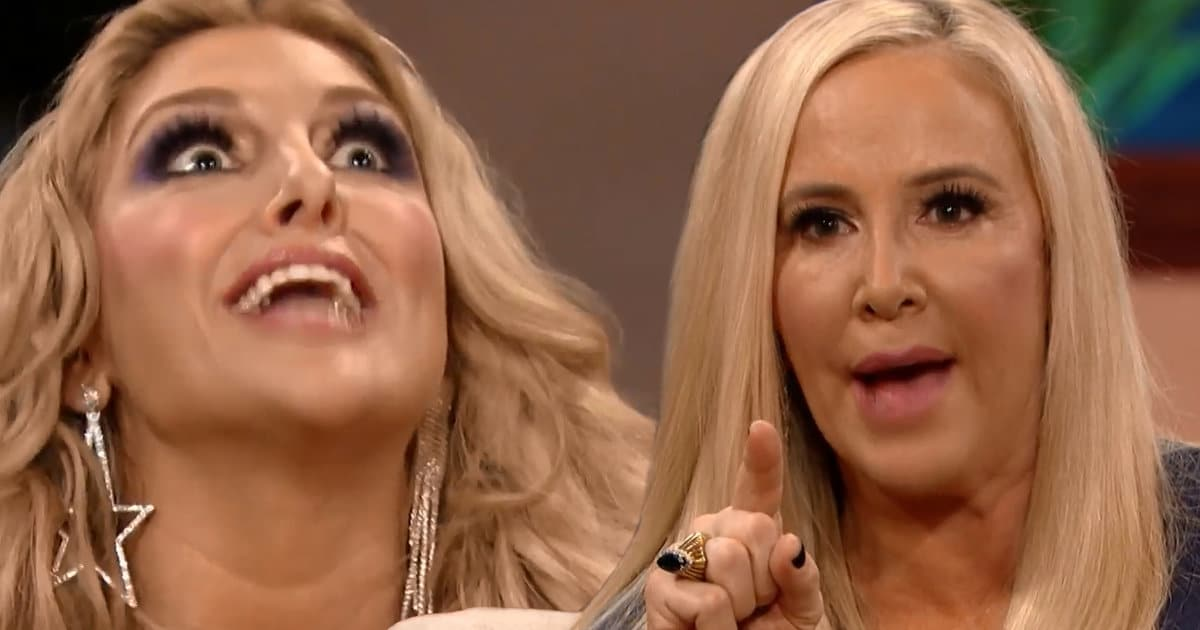 'RHOC' Reunion Juice: Gina Calls Shannon an 'Open Book of Bulls—' Before Breaking Down About Her Own Divorce