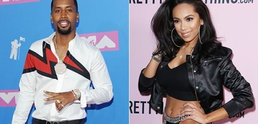 Safaree Samuels Engaged To Erica Mena After One Month Of Dating: See Elaborate, Candle-Lit Proposal